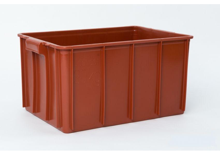 Prepravka  na mäso T50, červená,  1 ks