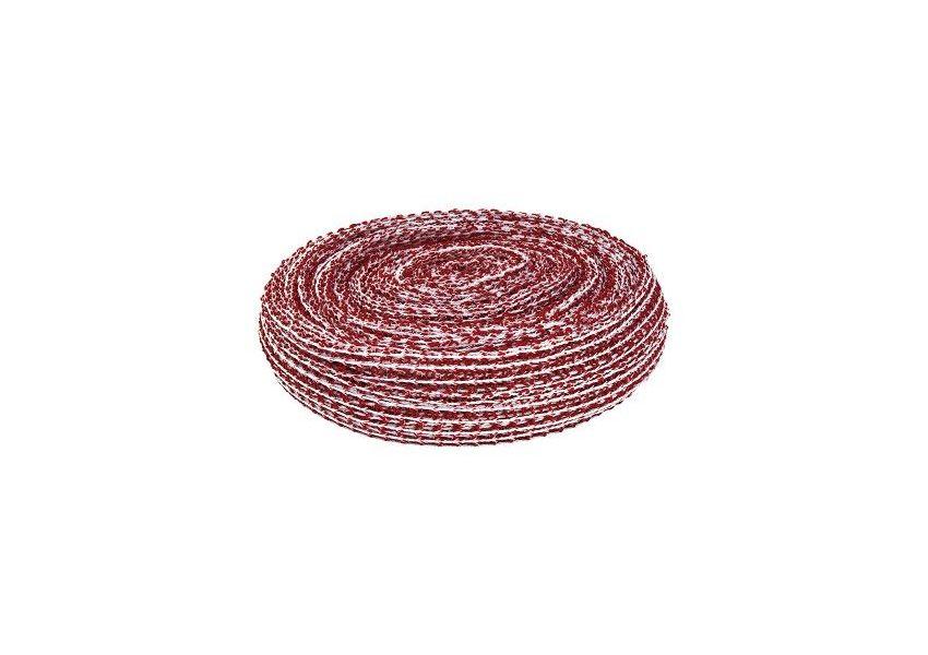 Sieťka na šunku, červeno-biela, rolka 50 m